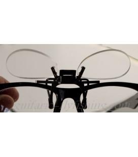 Clip loupe pour lunette
