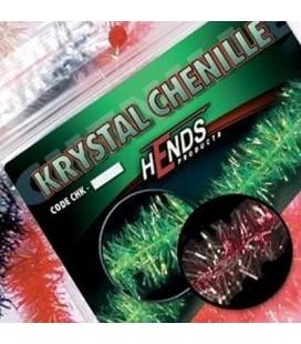 Krystal chenille 4mm-Claret