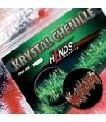Krystal chenille 4mm-Marron