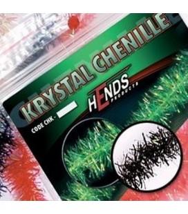 Krystal chenille 6mm-Noir