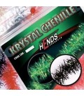 Krystal chenille 10mm-Noir