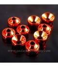 Anneau TG Orange métal