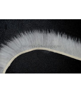 Furry band Blanc