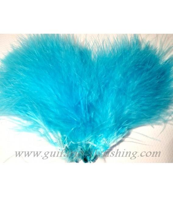 Marabout tressé Fluo Bleu