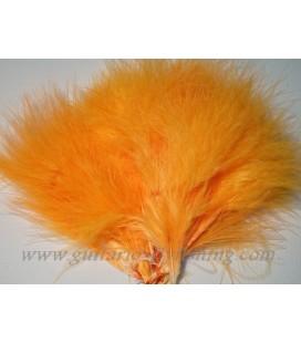 Marabout tressé Orange fluo