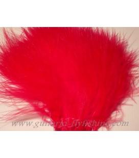 Marabout tressé Rouge fluo