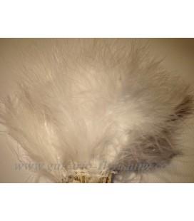 Marabout tressé Blanc fluo