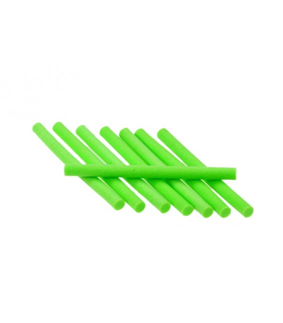 Micro cylindre Foam Chartreuse