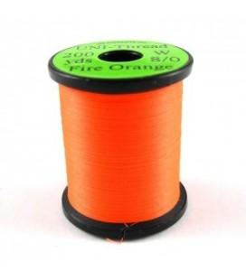 UNI Thread 8/0 Fire orange