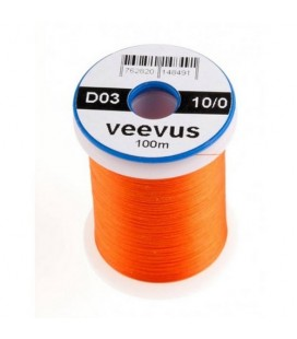 Fil 10/0 Orange fluo