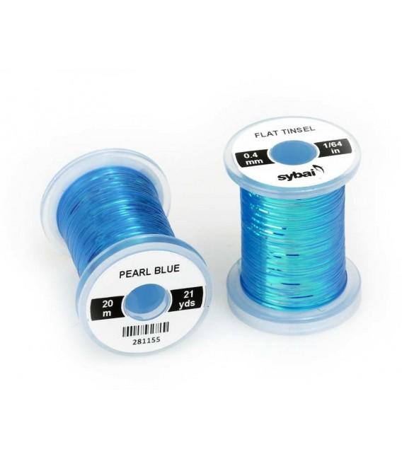 Flat tinsel Pearl Blue