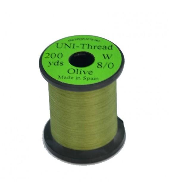 UNI Thread 8/0 Olive