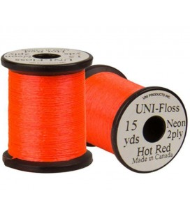 UNI Floss Hot Red