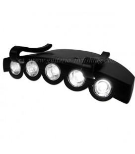 Lampe LED casquette
