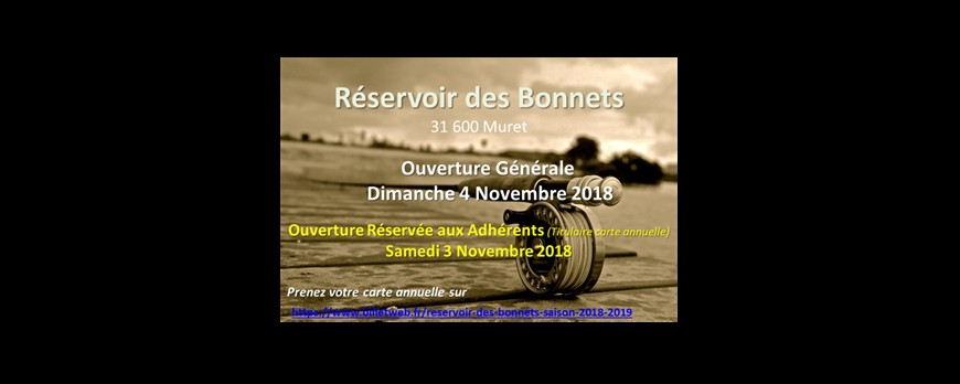 Réservoir Des Bonnets  2018-19