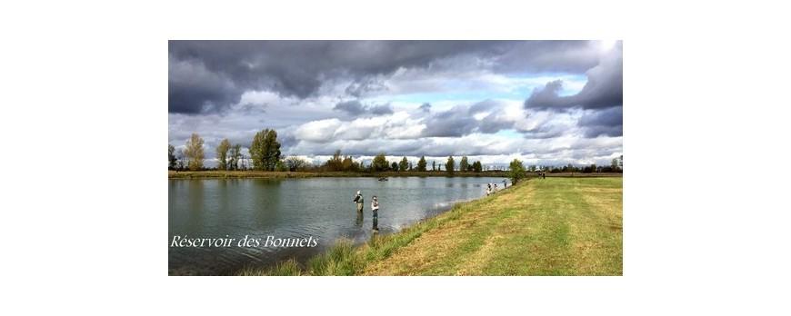 Nouveau réservoir mouche Haute-Garonne !!! Lac des Bonnets